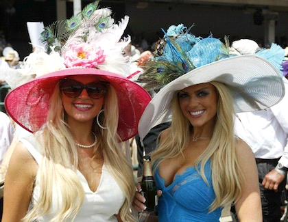 Fashion at the Horse track #1