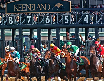 Keeneland Horse Track In Lexington Kentucky